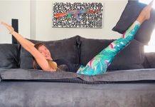 Γυμναστική στον καναπέ